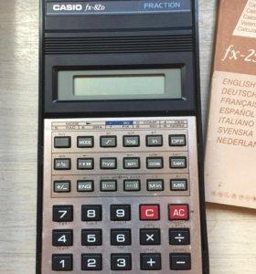 Casio калькулятор