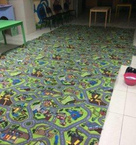 Ковролин детский игровой