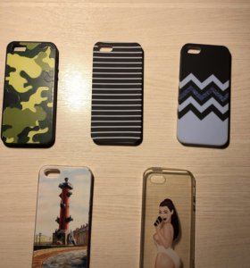 Чехлы iPhone 5,5s, SE