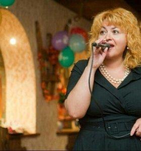 Ведущая, певица/свадьбы, юбилеи
