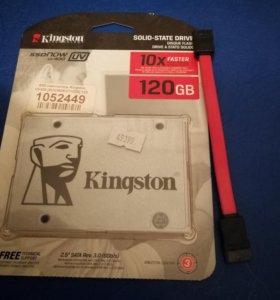 Ssd диск 120гб kingston uv400