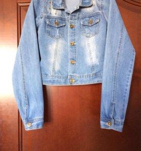 Куртка джинсовая ( Польша)