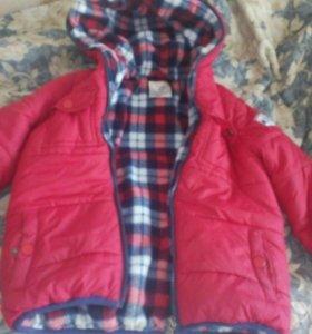 Детская куртка для мальчика, в хорошем состоянии