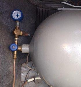 газ метан в сборе на 18куб