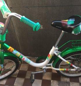 Велосипед для девочки (двухколёсный)