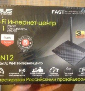 Роутер WiFi asus RT-N12