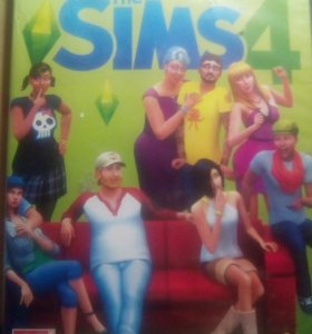 Диск The sims 4