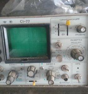 С1-77 - осциллограф двухканальный 50 МГц