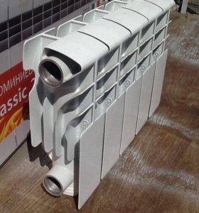 Алюминевый радиатор