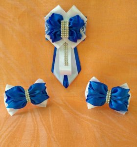 Школьные галстуки - броши