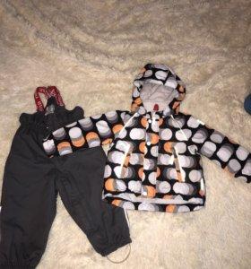 Зимний костюм Reima Tec размер 86+6