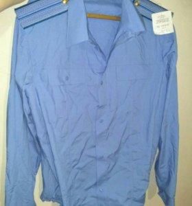 Полицейская рубашка, размер 42 - 5
