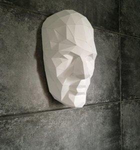 Полигональное лицо
