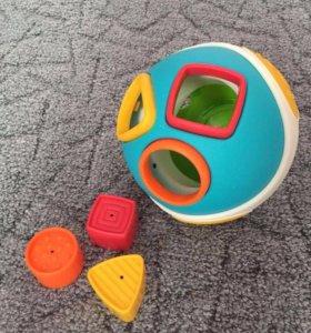 Мяч сортер музыкальный ELC