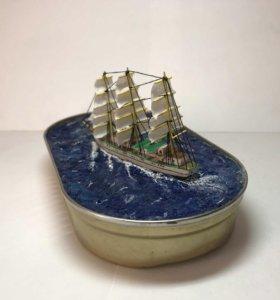 Сувенир модели корабля «Херсонес»