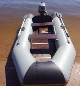 Лодка надувная Norvik 310 с мотором Silver 5 л.с.