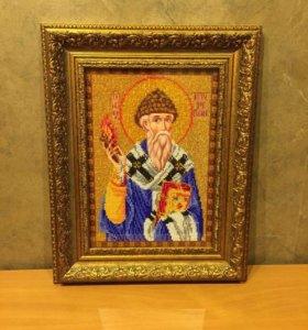 Икона Святитель Спиридон Тримифунтский
