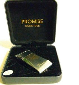 Зажигалка Promise новая.