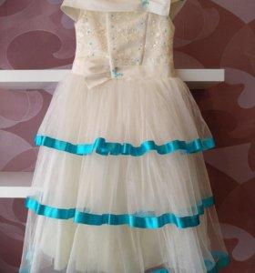 Праздничное платье 5-7 лет
