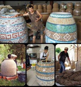 Тандыр Узбекской и Грузинской