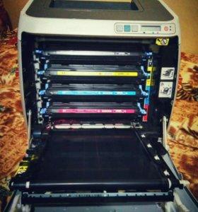 Цветной Лазерный принтер HP Color LaserJet 1600
