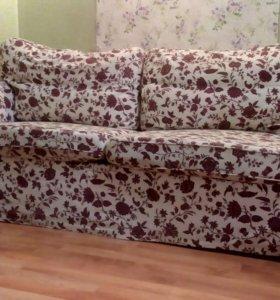 Диван кровать Икеа Экторп двухместный