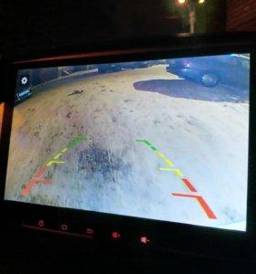 Новая. Камера заднего вида с диодной подсветкой.