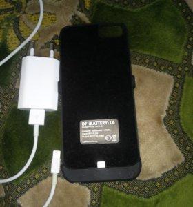 Чехол зарядка iPhone 6-6s