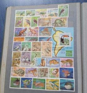 Почтовые марки 3 альбома