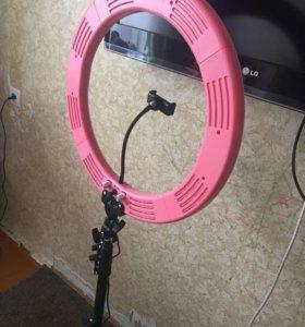 Кольцевая светодиодная лампа визажиста