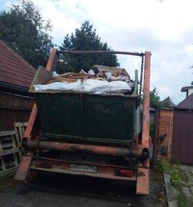 Вывоз мусора 8куб