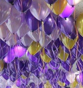 Воздушные и гелиевые шары с доставкой по СПБ и ЛО
