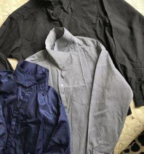 Лот рубашек на рост 150-160