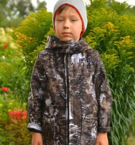 Теплый осенний костюм на мальчика