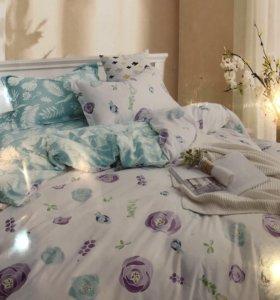 1,5 спальный комплект белья! Новый! Выбор!