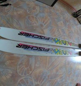 Горные лыжи фишер
