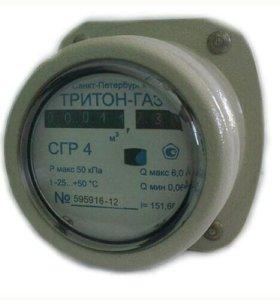 Счетчик газа СГР 4 (новый)