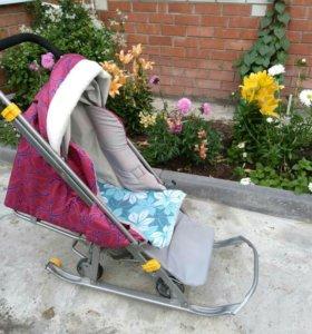 Продам санки - коляска