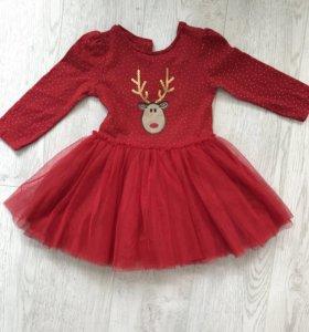 Платье 86 см
