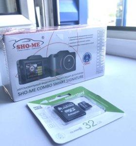 Антирадар Sho-me combo smart signature #840