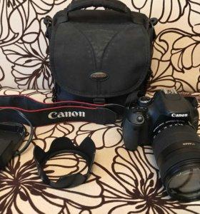 Фотоаппарат canon 600D (с объективом)