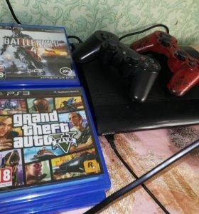 PlayStation 3 super slim 500gb, 32 игры(свыше 30К)