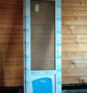 Дверь балконная VEKA новая
