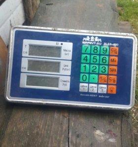 Монитор от весов