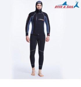 Неопреновый костюм 5мм. Размеры 3XL, XL, L