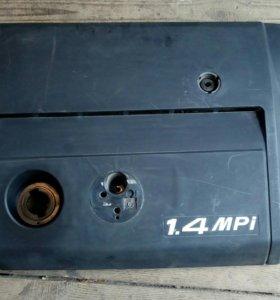 Крышка двигателя Skoda Fabia 1.4 2002-2007