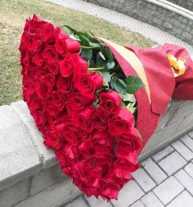 Купить розы, букет роз оптом и в розницу