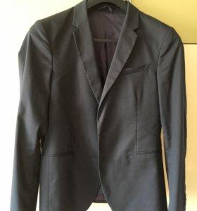 Пиджак-жакет мужской, подростковый 48-50 размер