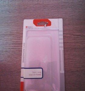 Прозрачный чехол на Samsung GJ5 Prime
