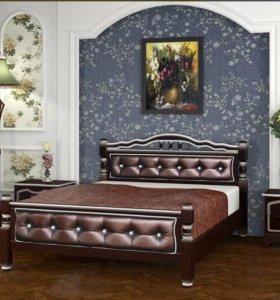 Кровать Карина 11.Массив сосны